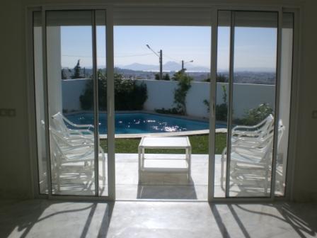 Vente villa luxe de prestige en tunisie achat ventes for Appartement bordeaux avec piscine
