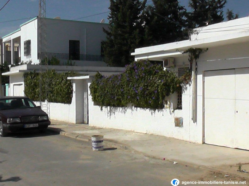 Vente achat villa maison en tunisie villas maisons a for Achat maison a